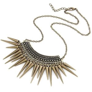 Statement ketting spikes-0