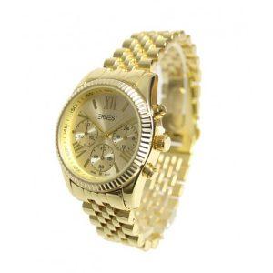Ernest horloge Pressley goud-0