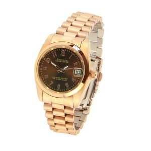 philippe constance horloge rose plain