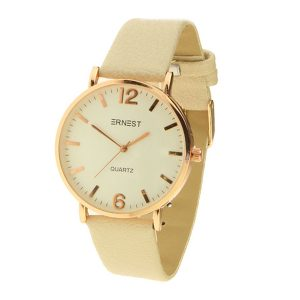 Ernest horloge cream flair