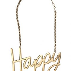 Happy statement ketting-0