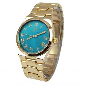 Michael John horloge si goud aqua
