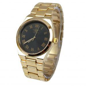 Michael John horloge si goud zwart