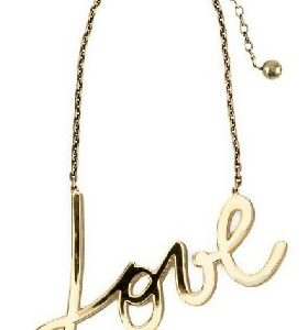 statement ketting love ketting
