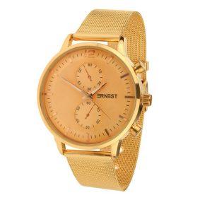 Ernest horloge clubb rose goud