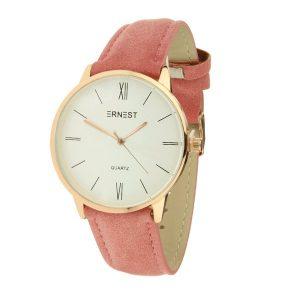 ernest-horloge-sheffield-roze