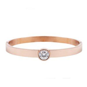 armband-bangle-steen-rose-goud