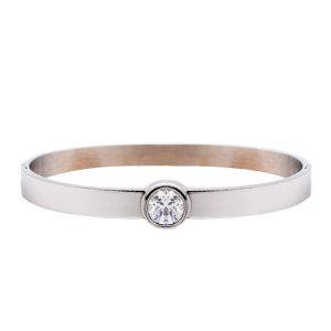 armband-bangle-steen-zilver