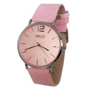 ernest-horloge-elita-roze-zilver