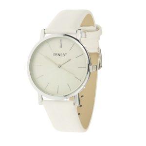 ernest-horloge-fashion-wit-zilver
