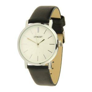 ernest-horloge-fashion_zwart_zilver