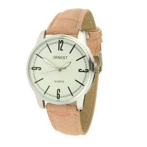 ernest-horloge-londen-roze-zilver
