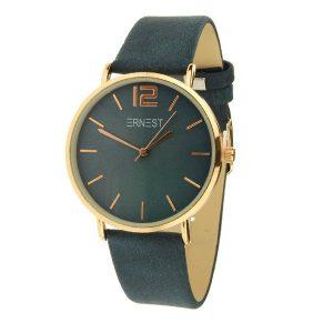 ernest-horloge-rose-blauw-elita
