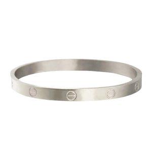 stalen-armband-bangle-schroef-zilver