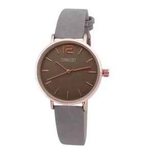 ernest-horloge-elita-mini-grijs-rose
