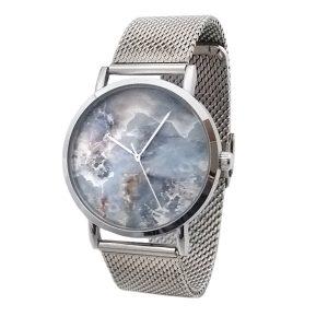 ernest-horloge-zilver-icon-marble