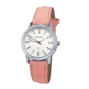 ernest-horloge-hora-mini-roze