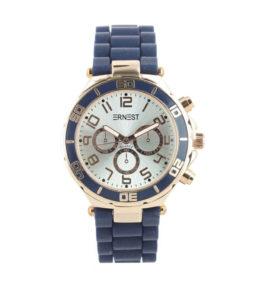 |ernest horloge blauw|