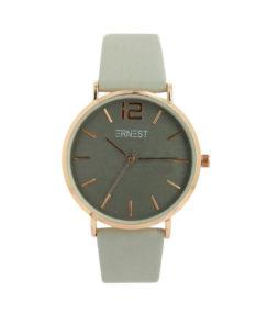|ernest horloge grijs rose