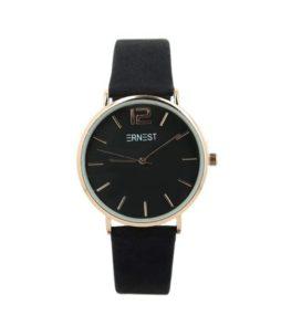 Ernest horloge eliat zwart 