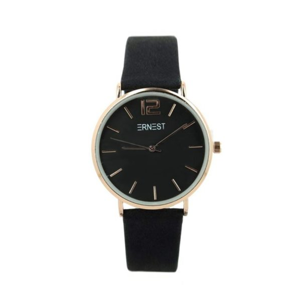 Ernest horloge eliat zwart|