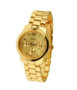 |ernest horloge goud