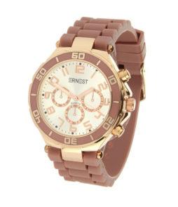 Ernest horloge oud roze