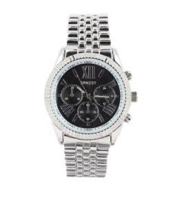 |Ernest horloge pressley zilver zwart-0|Ernest horloge pressley zilver zwart-210