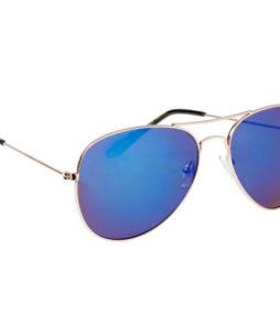 Spiegel zonnebril aviator blauw-0|Spiegel zonnebril aviator blauw-76