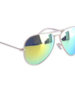Spiegel aviator zonnebril groen-0|Spiegel aviator zonnebril groen-78
