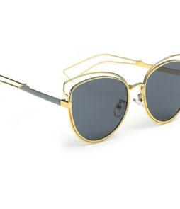 Zonnebril cat eye vintage goud-0|Zonnebril cat eye vintage goud-566